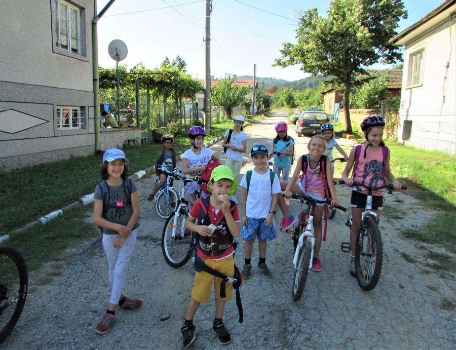 Подготовка за старт на вело прехода