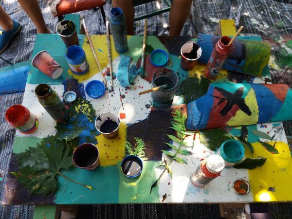 Рисуване върху керемида