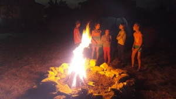 Игри при огъня