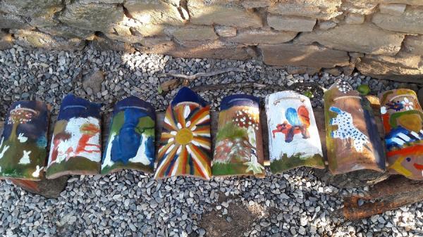 Рисувани керемиди